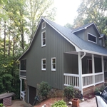 after exterior painting contractor ellijay ga