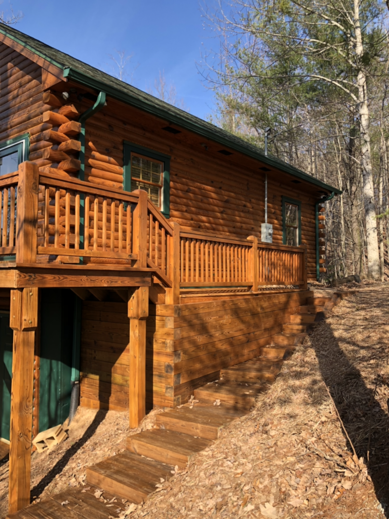 Exterior Cabin Restoration
