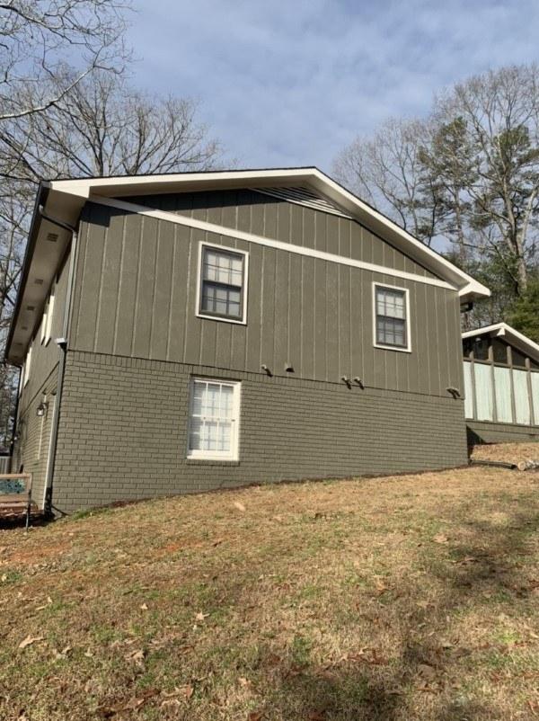 Exterior Painting Project in Ellijay, GA