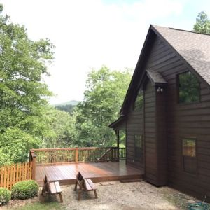 exterior staining in ellijay ga