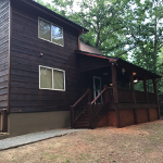 Exterior Staining Job in Ellijay Ga