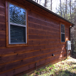 Stained Home in Blue Ridge