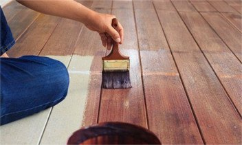 ellijay wood staining services
